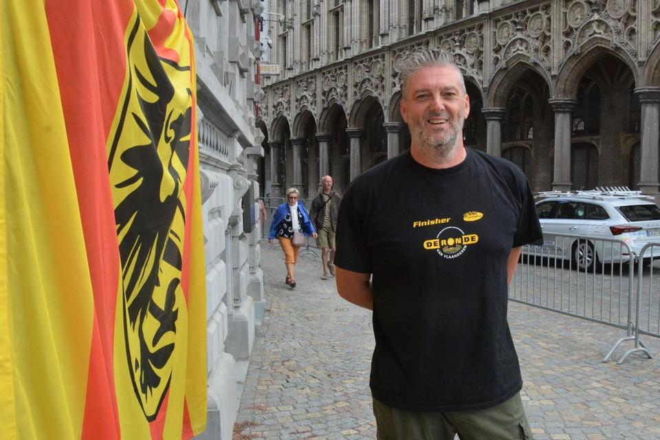 """""""Ik ben trots dat het WK in Mechelen passeert"""", zegt Johan Van der Taelen."""