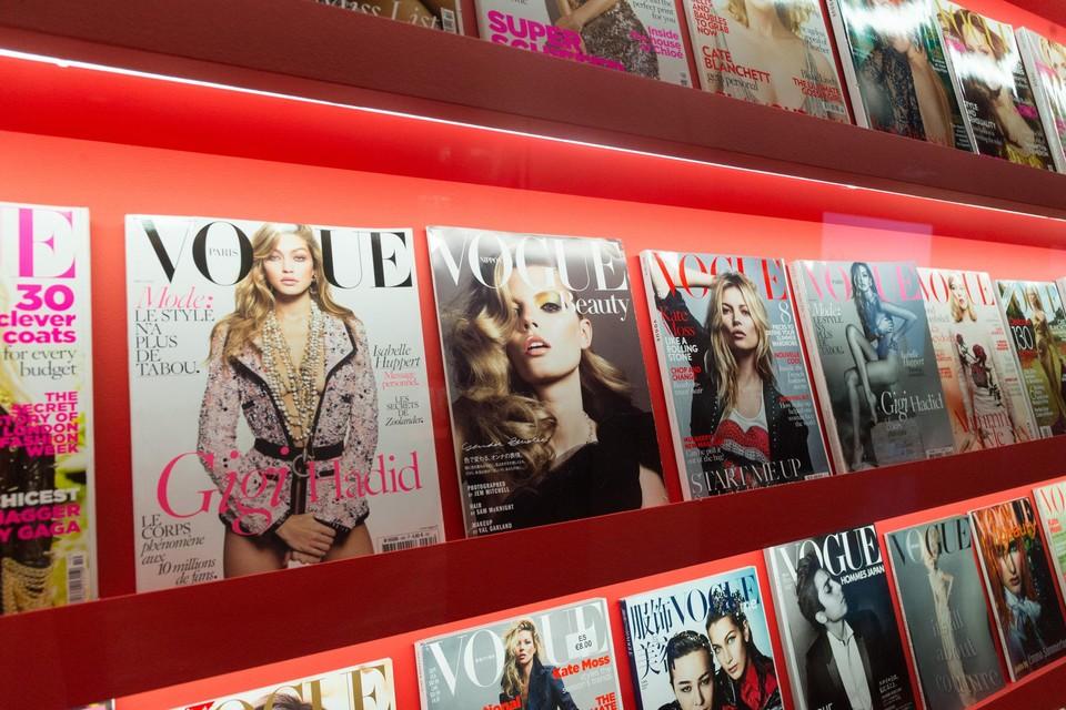 Themabeeld: selectie van Vogue-covers.