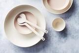 thumbnail: <P>Point Virgule-servies in bamboe, voor keukenprinsessen die zich inzetten tijdens mei plasticvrij, vanaf 4,50 euro </P>