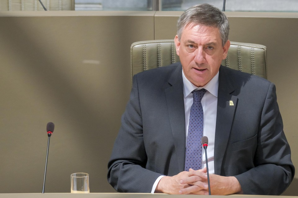 Vlaams minister-president Jan Jambon houdt al de hele week bilaterales met zijn ministers