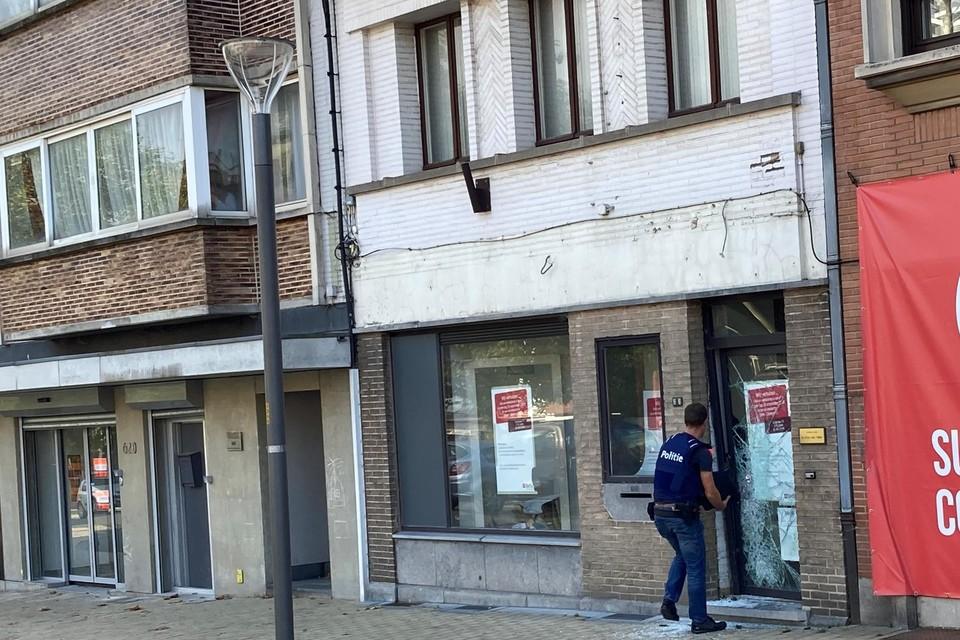 Het gebouw was vroeger een Belfius-kantoor.