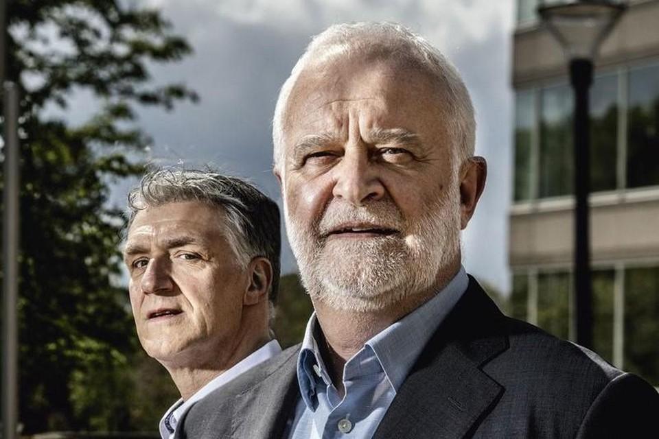 Wim Eraly en Filip Ferrante van KBC.