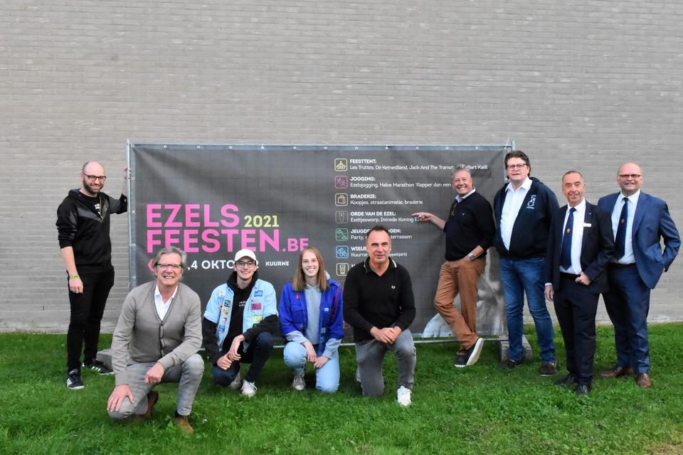 In Kuurne zijn ze helemaal klaar voor de Ezelsfeesten in het eerste weekend van oktober.