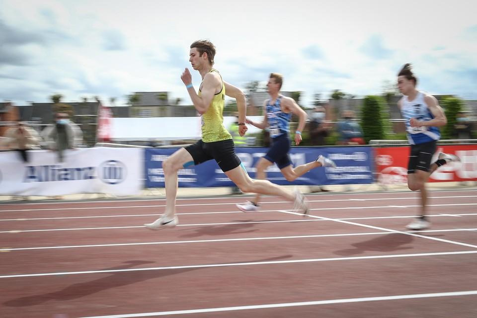 Yoran Deschepper gaat voor goud op de 100m en 200m.
