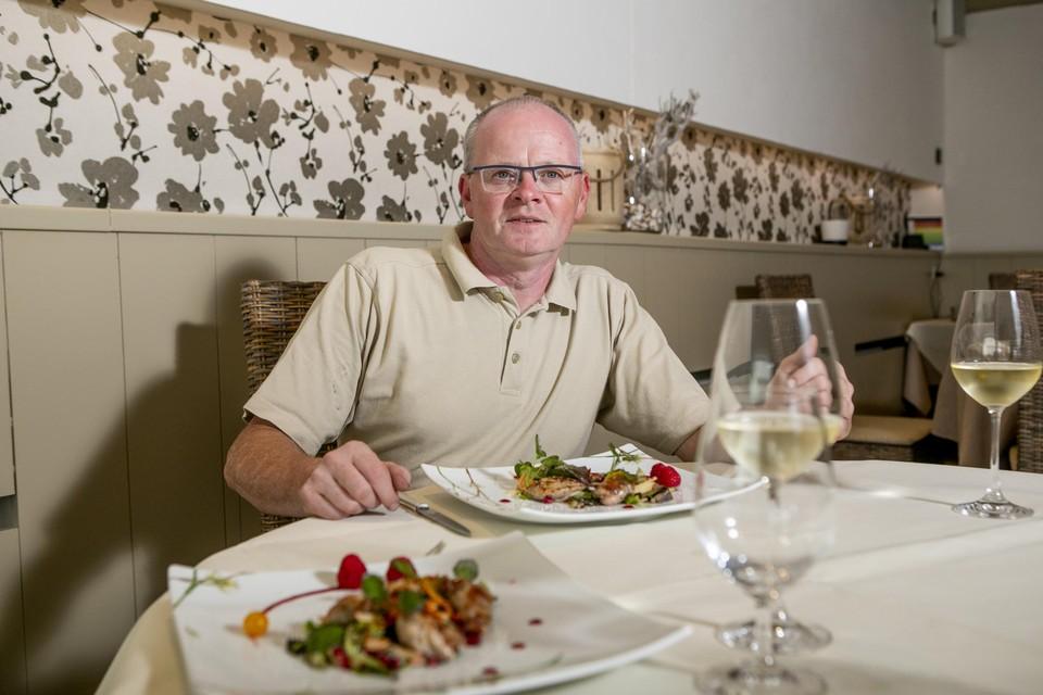 Chef Karl Reyniers.