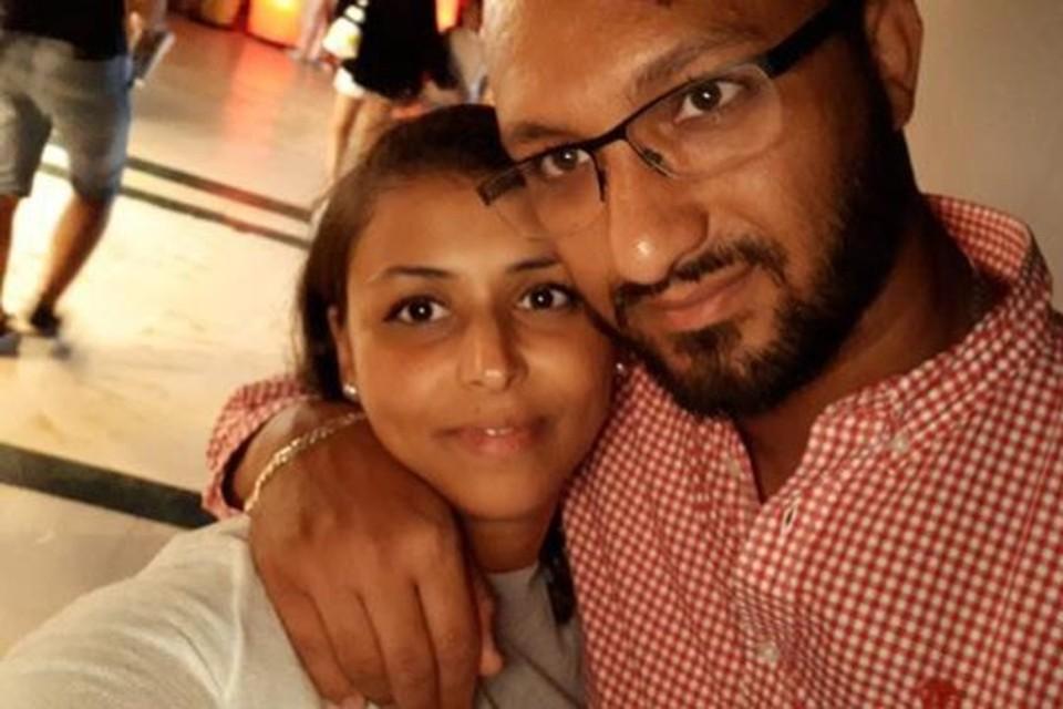 Mohamed Nahi, hier met zijn vrouw Samia Doghmi.