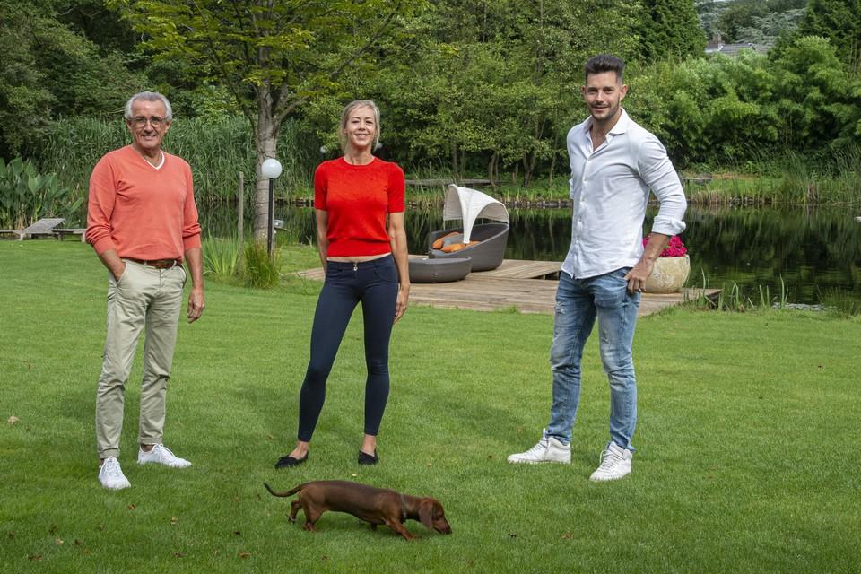 Jef Cavents, Athalia Kroos en Dieter Eerens.