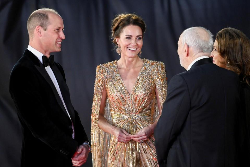 Kate Middleton en prins William