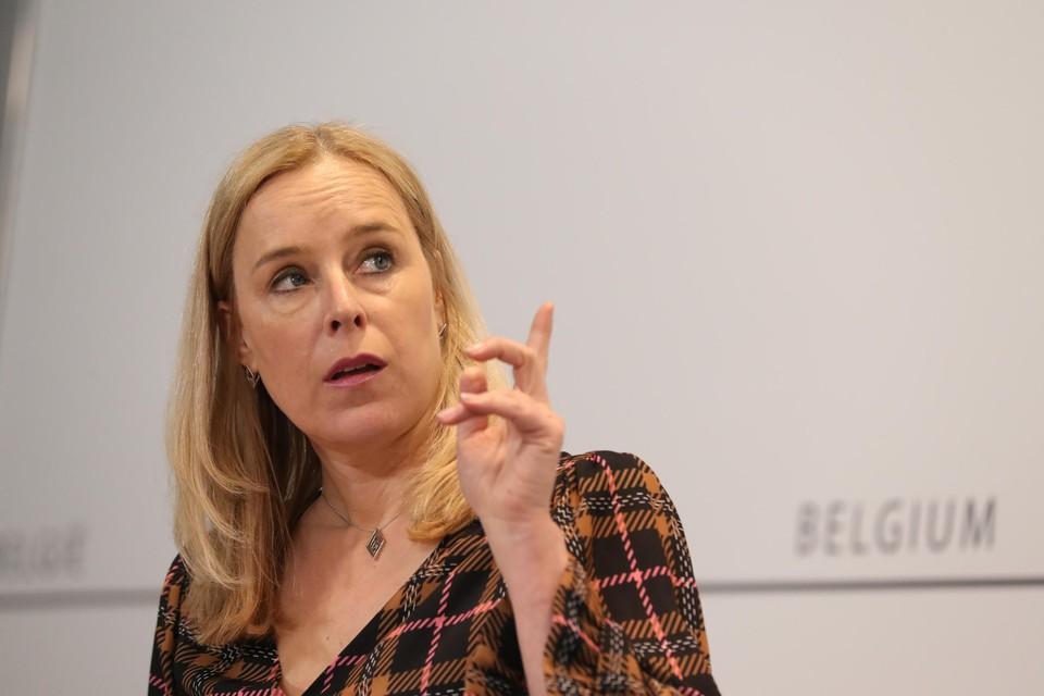 """Staatssecretaris voor Begroting Eva De Bleeker (Open VLD) noemt de cijfers van het monitoringcomité """"hoopgevend"""""""