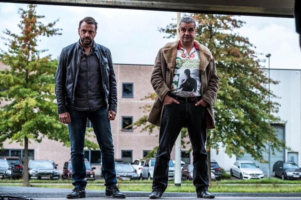 Tom Waes en Frank Lammers: hun personages worden veroordeeld tot samenwerken in Undercover 3.
