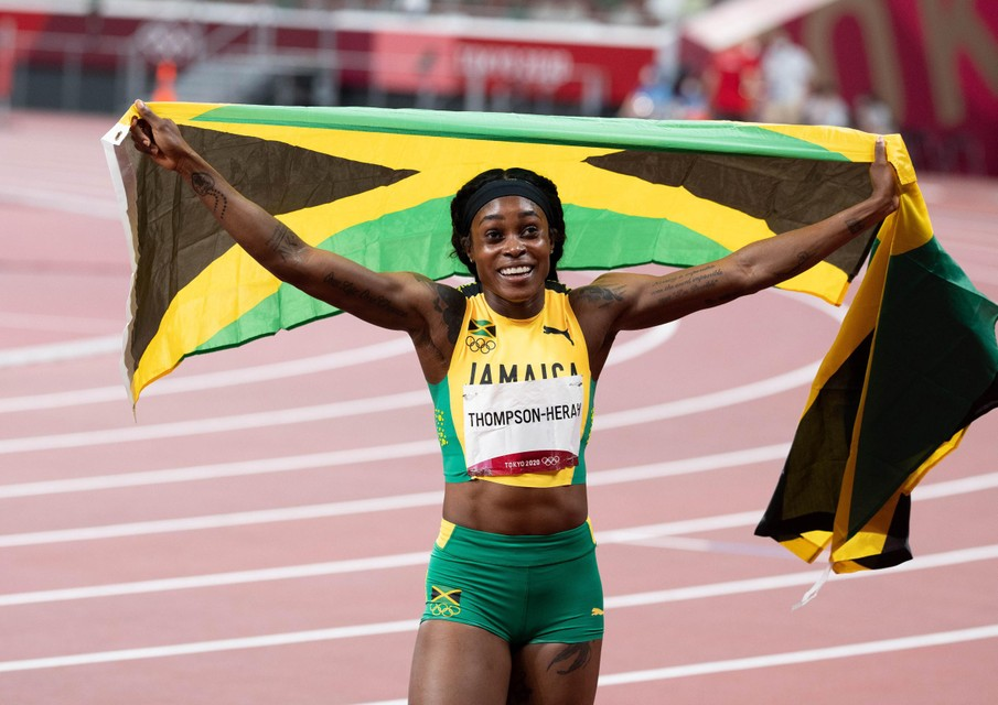 De koninging van de sprint komt uit Jamaica.